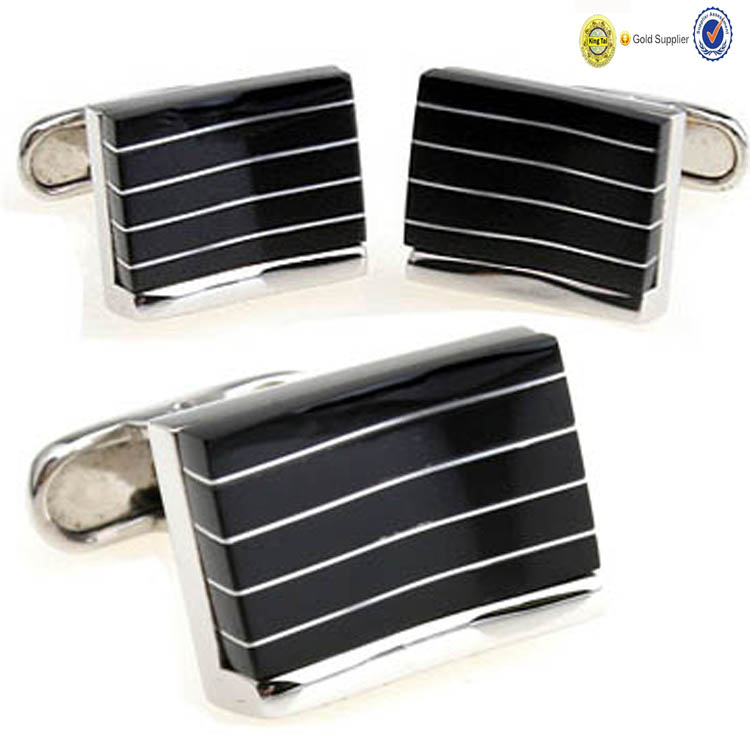 wholesale new design antique metal custom novelty sterling silver cufflinks
