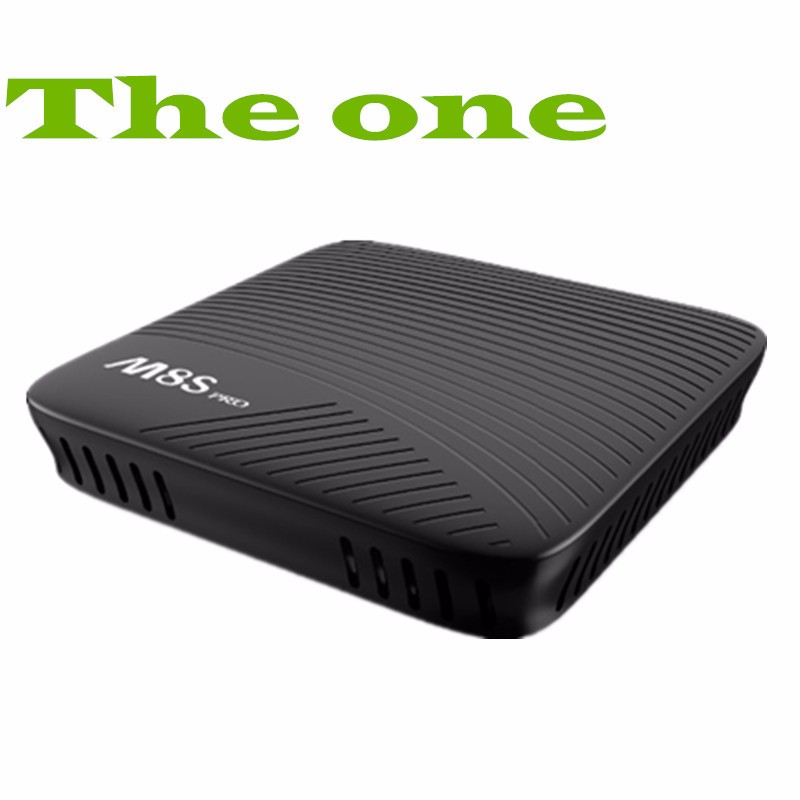 M8S Pro Android 7.1 Smart TV Box 2G / 3GB DDR4 RAM 16GB Amlogic S912 Octa Core Streaming Media Player 2.4G/5G Wifi Bluetooth 4.1