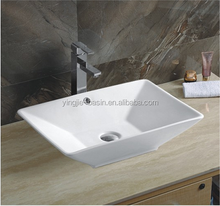 YJ9212 Popular square best selling ceramic bathroom sink