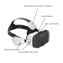 Hot Vr Box Large Stock Hot Sale Cheap Video glasses, 3d Glassed Virtual Reality Helmet 1080p Video vr GLASSES
