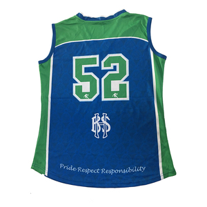 Cheap Youth Basketball Uniform Fabrics Design Green