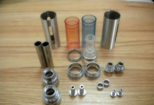 CNC brass lathe turning mechanical parts e-cigarette machining parts/wholesale K100 Mechanical e-cigarette mod
