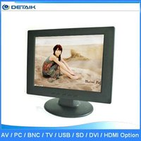 10 Inch TFT LCD Small Car TV Monitor