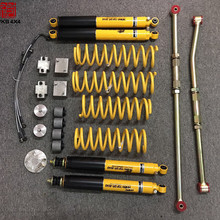 4x4 accessories 9 way adjustable gas shock absorber jimny 2 inches suspension lift kit for suzuki jimny