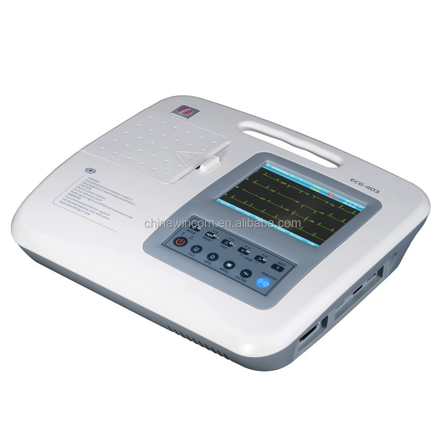3 lead bluetooth ecg machine for sale