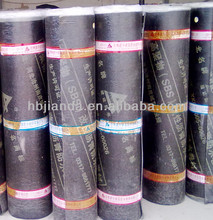 building polyester roofing mat/felt for APP/SBS waterproof membrane