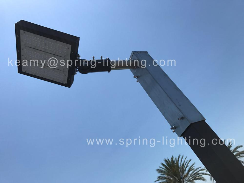 150W UL DLC Parking Lot LED Shoebox Light 400W Street Light Metal Halide Lamp Replacement fixture