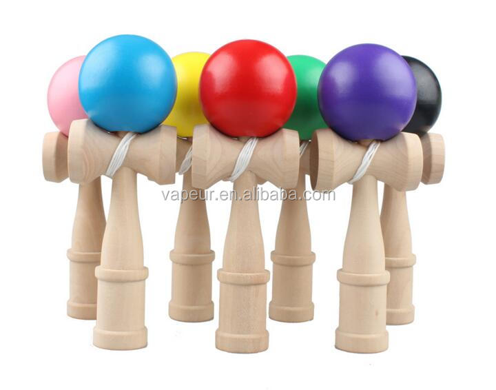 Wholesale Promotion cheap kids toy 3 colors wholesale kendama