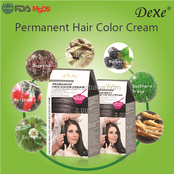 High margin products silky pleasure cream caramel hair color cream for henna hair dye