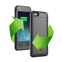 Rechargeable Backup Power Case 2200mah For iPhone 5S Power Pack Extra Backup battery Charger Case for iphone 5