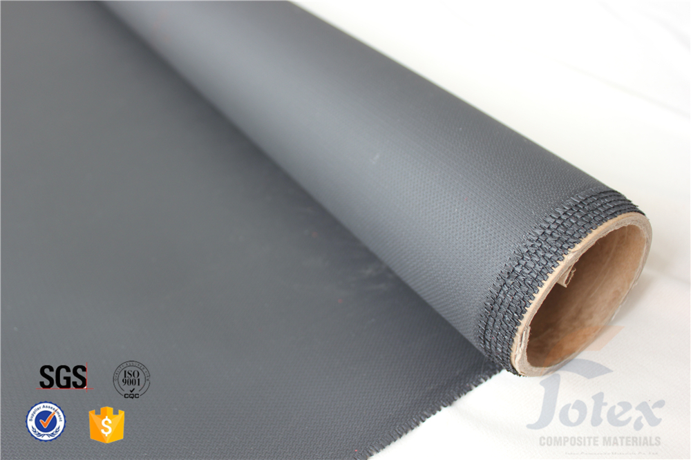 3732 0.5mm PU coated welding fire blanket