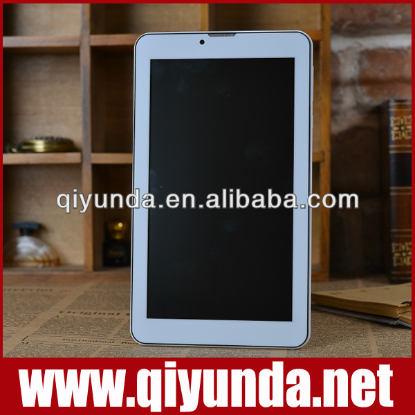 7 inch 1024*600 OGS Capacitive 5 point touch MT6577 ARM Cortex-A9 dual core 1.0GHZ Android 4.1.2 Dual SIM Card tablet