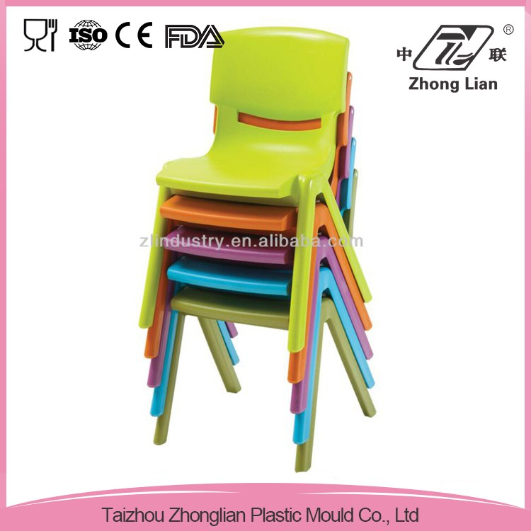 China market new design colorful plastic chair mould
