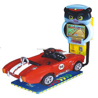 3D kids car racing equipment car racing games free play cheap arcade games for sale