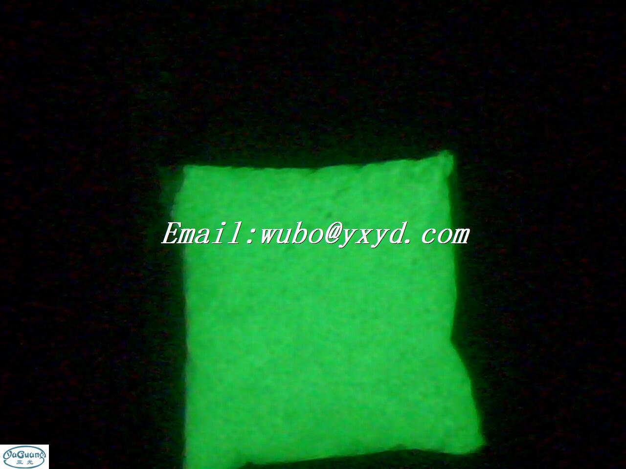 high Glow in the dark PVC plastic resin,luminescent resin