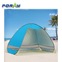 Outdoor 2-3 Person Automatic Pop up Instant Portable Cabana Beach Tent Camping Fishing Picnic UV Protective Shelter, Sets up in