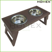 Luxurious stainless steel pet bowl/pet food container/dog feeder/HOMEX