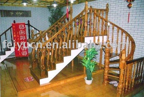 Escalera de bamb productos de bamb escalera escaleras - Escaleras de bambu ...
