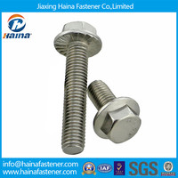 stainless steel flange serrated bolt