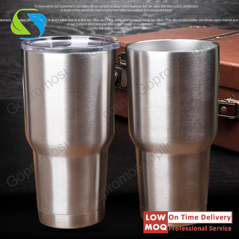 2017 New food grade 20oz 30oz stainless steel mugs 30 oz tumbler