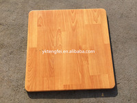Square wooden dinner table, verzalit table top for sale, laminate table top