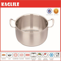 Hign quality Stainless Steel Tri-Ply Clad Cookware induction casserole