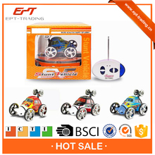 Top quality kids rc stunt car for sale mini rc car with charger line