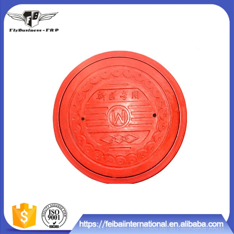 Light Weight High Strength anti-aging frp circular manhole cover