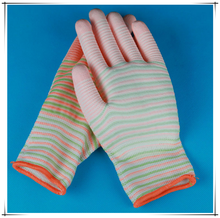 High quality anti-static nylon PU coated gloves