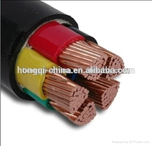 Underground xlpe PVC insulation copper 120mm2 pv power cable