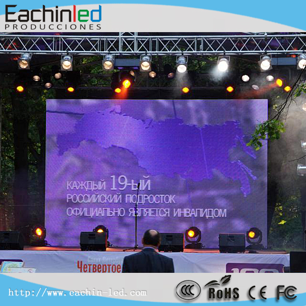 LED Strip Display Screen 2 Years Warranty Full Color P6 Outdoor LED Video Wall