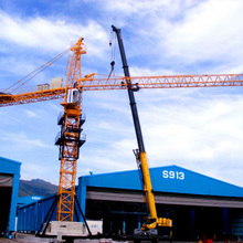 Low Price 10t Used Construction Tower Crane