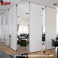Office interior design folding screen room partition