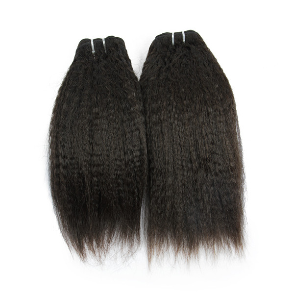 JP 10A kinky straight unprocessed top virgin brazilian human hair
