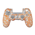 2017 High Qulity Colorful Print Silicone Case for PS4 Controllersilicone cover