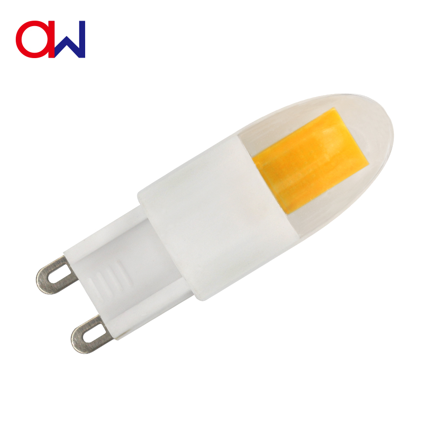 New product china supplier ETL UL CE RoHS 2.3W <strong>AC</strong> 110V 220V COB 12v g9 led lamp