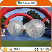 Top sale inflatable colour zorb ball inflatable bubble ball roller zorb