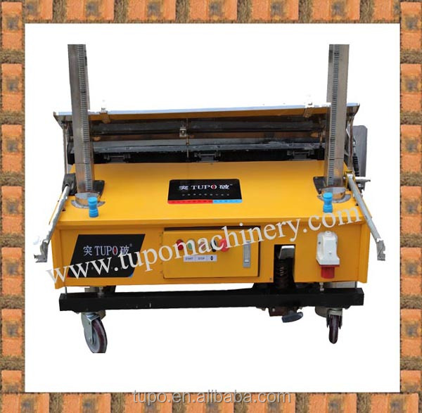 new models automatic gypsum plastering machine with good quality and cheap price