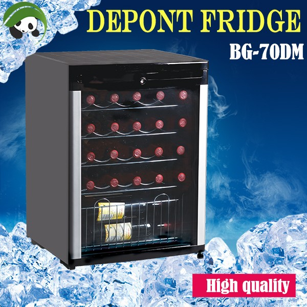 stainless steel refrigerator car fridge BG-50-L