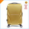 PC trolley luggage with 4-piece 360 wheels