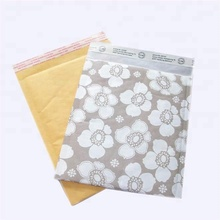Yellow printing customized jiffy kraft bubble bags bubble envelopes