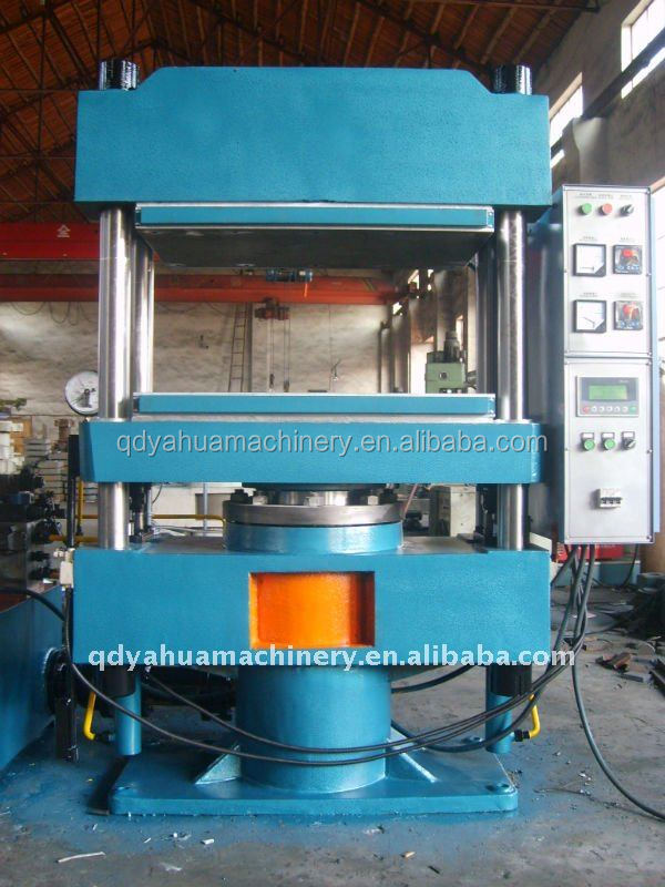 Manual Control Rubber Vulcanizing Press/Electric Heating Small Size Rubber Plate Curing Press