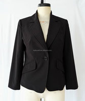ladies one button jacket uniform