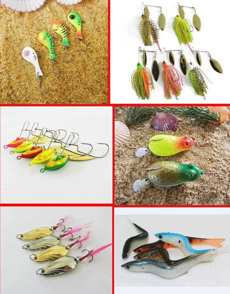 Japan Top Quality Popper Fishing Lures Hard Body Bait Mix Lures