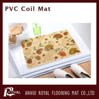 Anti-slip PVC coil outdoor rug runners