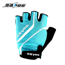 Sahoo Competitive Price and OEM Accepted Unisex Half Finger Padded Cycling Gloves