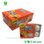 crispy center filled bubble gum chewing gum in blister packing:4pcs-per pack