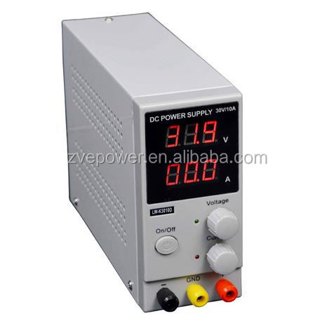 LW-K3010D Mini Switching Regulated Adjustable Digital DC Power Supply SMPS 30V 10A