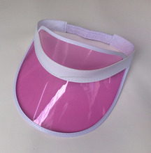 Promotion Cheap Customized Plastic Sun Visors Hats