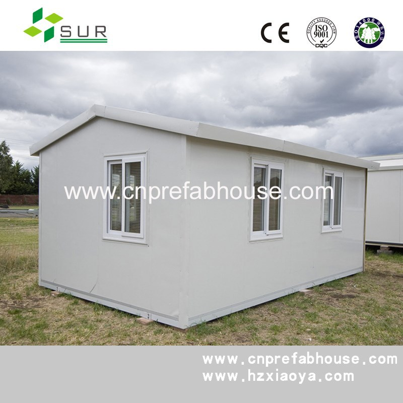 china supplier CE certification prefabricated homes with 12mm plywood